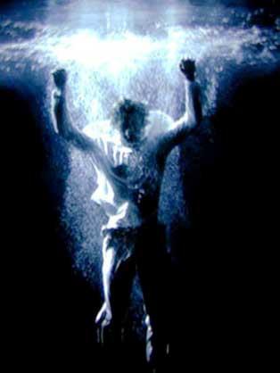 Bill Viola, Acension, 2000 video still