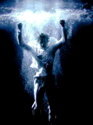 Bill Viola, Acension, 2000 video still