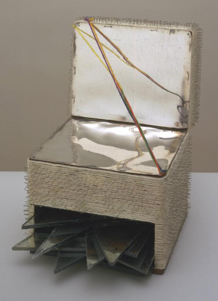 Box 1963 Lucas Samaras born 1936 Presented by Janet Wolfson de Botton 1996 http://www.tate.org.uk/art/work/T07186
