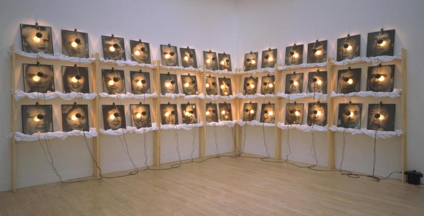 The Reserve of Dead Swiss 1990 Christian Boltanski born 1944 Presented by the Fondation Cartier 1992 http://www.tate.org.uk/art/work/T06605
