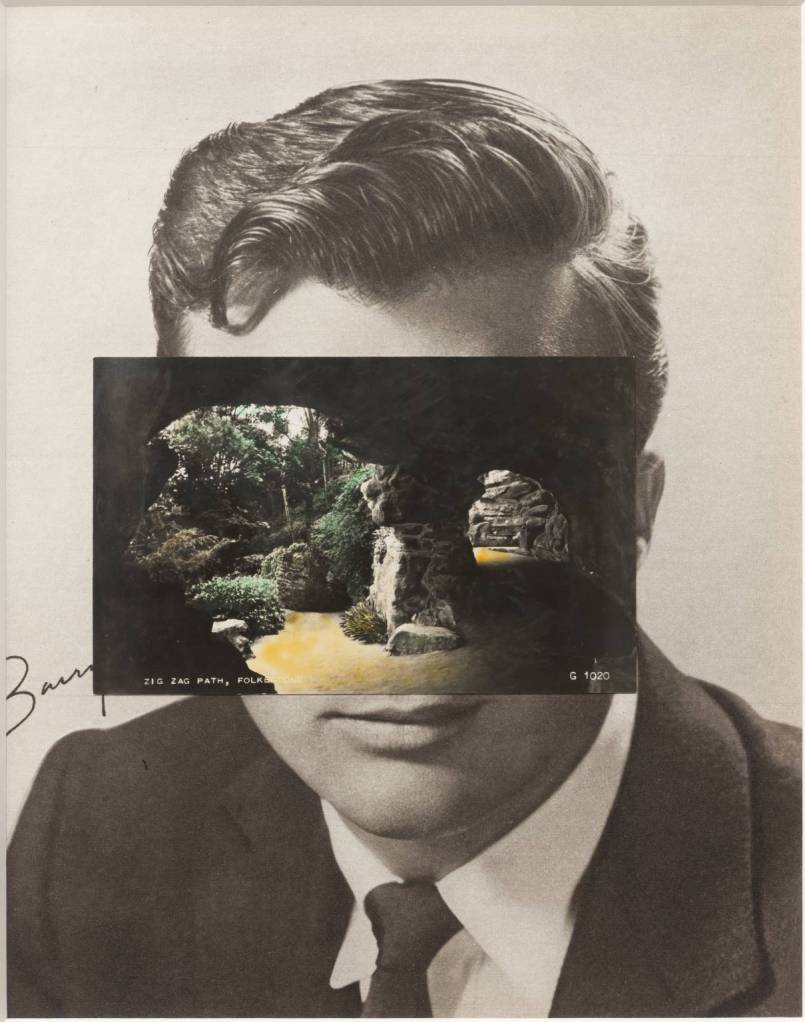 Mask XIV 2006 John Stezaker born 1949 Purchased 2007 http://www.tate.org.uk/art/work/T12347